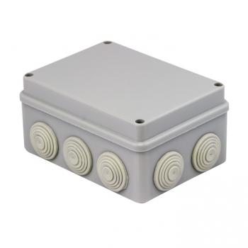 Коробка распаячная КМР-050-042 пылевлагозащитная, 10 мембранных вводов, уплотнительный шнур (190х140х70) EKF PROxima