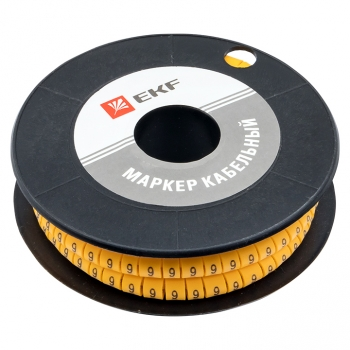 "Маркер кабельный 1,5 мм2 ""9"" (1000 шт.) (ЕС-0) EKF PROxima"