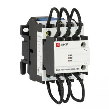 Контактор для конденсатора КМЭК 12,5квар 400В 1NО+1NC EKF PROxima