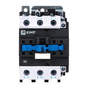 Пускатель электромагнитный серии ПМЛ-3160М 40А 400В EKFBasic