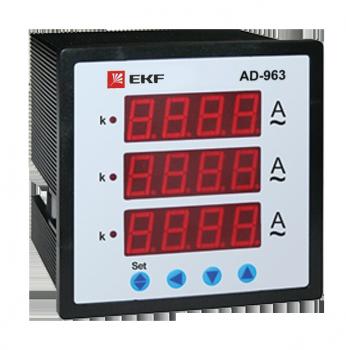 AD-963цифровойнапанель(96х96)трехфазныйEKF PROxima