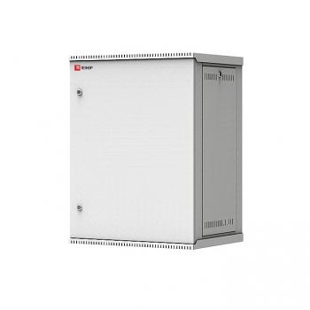 Шкаф телекоммуникационный настенный разборный 15U (600х450) дверь металл, Astra E серия EKF PROxima