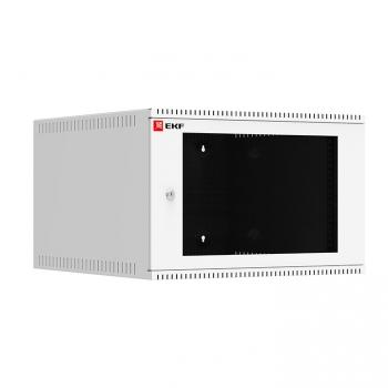 Шкаф телекоммуникационный настенный 6U (600х650) дверь стекло, Astra A серия EKF Basic