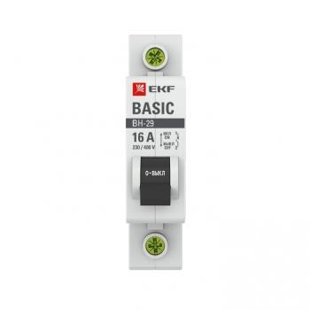 Выключатель нагрузки 1P 16А ВН-29 EKF Basic