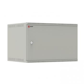 Шкаф телекоммуникационный настенный 6U (600х450) дверь металл, Astra E серия EKF PROxima