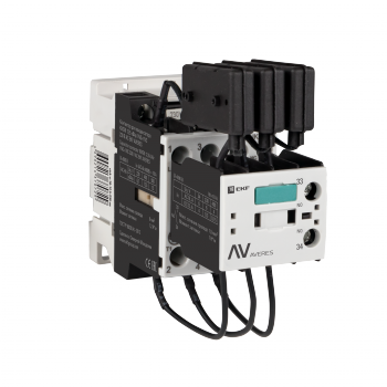 Контактор для конденсатора КМЭК 12,5 кВАр 230В 1NО+1NC EKF AVERES