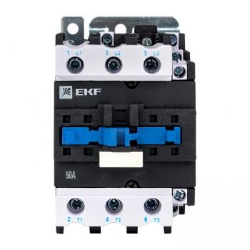 Пускатель электромагнитный серии ПМЛ-3160М 50А 230В EKFBasic