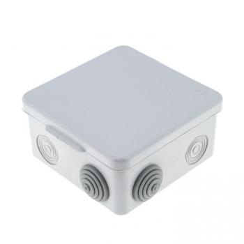 Коробка распаячная  КМР-030-031 с крышкой наружная (83х83х54) 7 мембранных вводов IP54 EKF PROxima