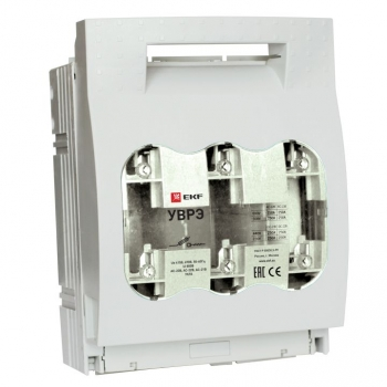Выключатель-разъединитель УВРЭ 400А откидного типа под предохранители ППН (габ.2) EKF PROxima