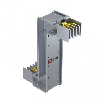 Cекция Z-образная вертикальная 2000 А IP55 AL 3L+N+PE(ШИНА)