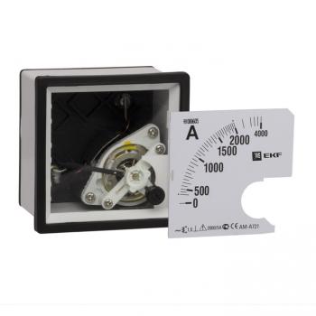 Амперметр аналоговый AM-A961 со сменными шкалами