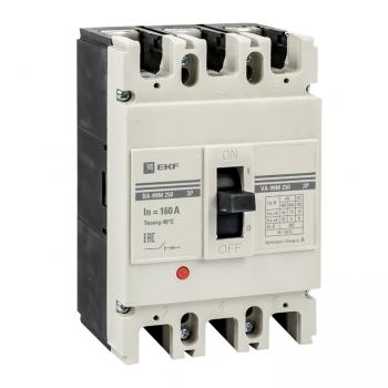 Выключатель автоматический ВА-99М  250/160А 3P 35кА EKF PROxima