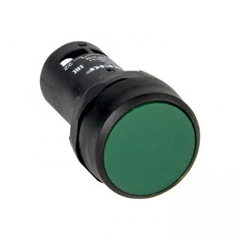 Кнопка SW2C-11 с фиксацией зеленая NO+NC EKF PROxima