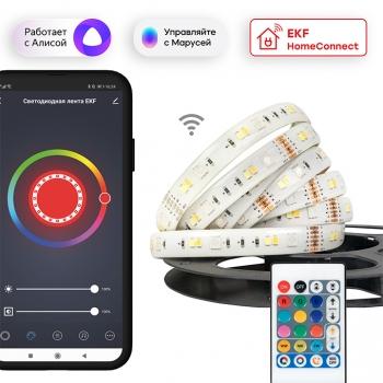 Умная светодиодная лента EKF Connect RGBW 3m