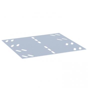 Накладка на осн. соединительная 100мм RAL EKF