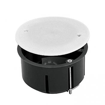 Коробка универсальная установочная КМП-020-026 с металлическими лапками  и крышкой (80х45) EKF PROxima