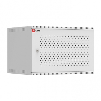 Шкаф телекоммуникационный настенный 6U (600х550) перфор, Astra серия EKF PROxima