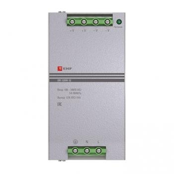 Блок питания 12В DR-120W-12 EKF PROxima