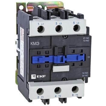 Контактор КМЭ малогабаритный 80А 230В 1NO 1NC EKF Basic