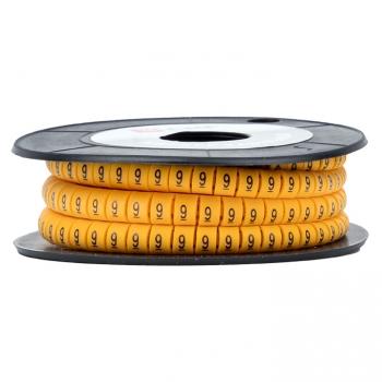 "Маркер кабельный 2,5 мм2 ""9"" (1000 шт.) (ЕС-1) EKF PROxima"