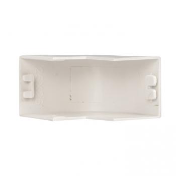 Угол внешний (25х25) (4 шт) Plast EKF PROxima Белый