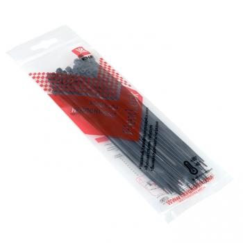 Хомут P6.6 стандартный (ч), 2.5x150 (50шт) FlexLock PROxima