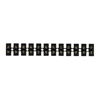 Колодка клеммная  (6мм.) 5А полистирол черная (10шт.) EKF PROxima