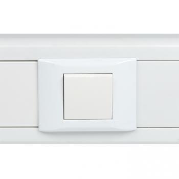 Выключатель, 10А, 1 клавишный без индикатора