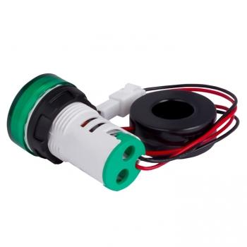 Индикатор значения тока и напряжения зеленый ED16-22AVD 100А EKF PROxima