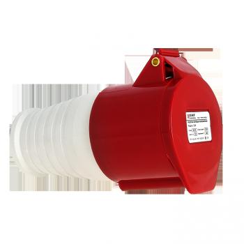 Розетка переносная 224 3Р+РЕ 32А 380В IP44 EKF PROxima