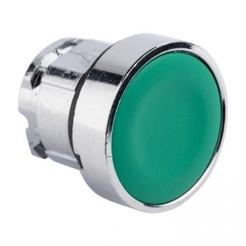 Исполнительный механизм кнопки XB4 зеленый плоский  возвратный без фиксации, без подсветки EKF PROxima