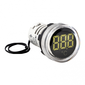 Индикатор значения температуры белый ED16-22С EKF PROxima