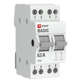 Трехпозиционный переключатель 2P 16А EKF Basic