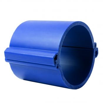 Труба гладкая разборная ПНД 160 мм (750Н), синяя EKF PROxima
