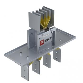Фланцевая секция для подключения к щиту  1000 А IP55 3L+N+PE(КОРПУС)