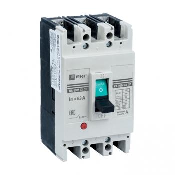 Выключатель автоматический ВА-99М   63/40А3P25кАEKF PROxima