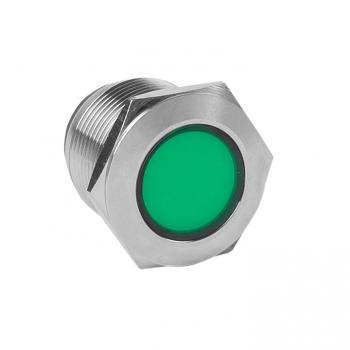 Лампа зеленая сигнальная S-Pro67 19 мм 24В EKF PROxima