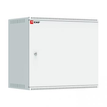 Шкаф телекоммуникационный настенный 9U (600х350) дверь металл, Astra серия EKF PROxima
