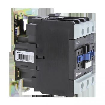 Контактор КМЭ малогабаритный 40А 230В 1NO 1NC EKF Basic