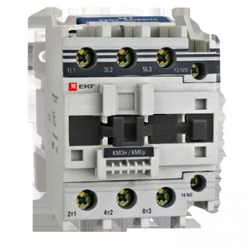 Контактор КМЭп малогабаритный 80А 110В DC 1NO 1NC EKF PROxima