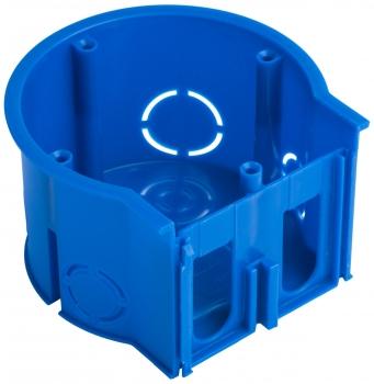 Коробка установочная сборная оконечная КМТ-010-4005 для твердых стен (71х45) с саморезами розн стикер EKF