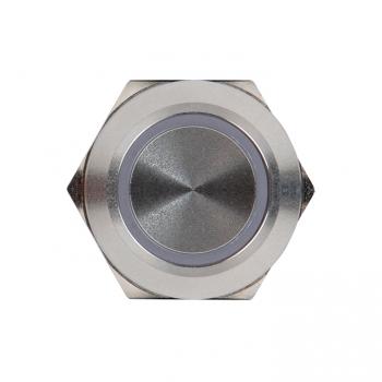 Кнопка S-Pro67 19 мм с фикс. с белой подсв. 230В EKF PROxima