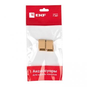 Заглушка (15х10) (4 шт) Plast EKF PROxima   под светлое дерево