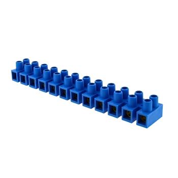 Колодка клеммная (25мм.) 60А полистирол синяя (10шт.) EKF PROxima