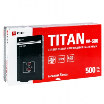 Стабилизатор напряжения настенный TITAN W-500 EKF PROxima