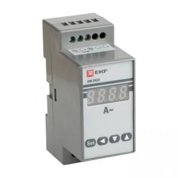 Амперметр AM-DG31 цифровой на DIN однофазный