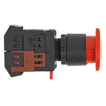 Кнопка AE-22 поворотная блокировка NO+NC Грибок EKF PROxima