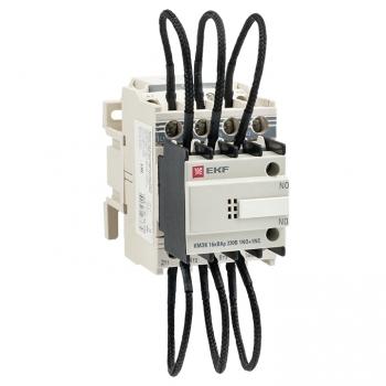 Контактор для конденсатора КМЭК 16квар 230В 2NО+1NC EKF PROxima