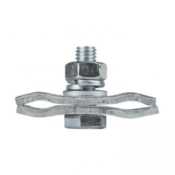 Зажим соединительный плашечный 2 болта М8 (D провода 9,1...12,0 мм) ПС-2-1 EKF PROxima