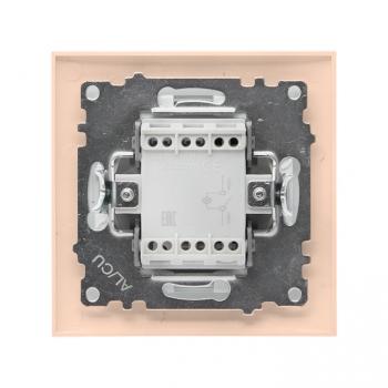 Валенсия выключатель 1-кл. 10А кремовый с индикатором EKF PROxima
